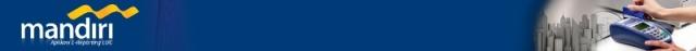 Header Aplikasi Bank Mandiri